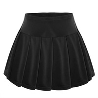 Tennis skorts women skirts quick dry girl lady badminton running skirt tennis sport skirts with panties 1pc FLG