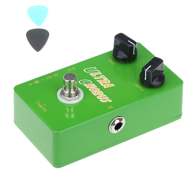 Caline CP-28 Ultra Chorus Guitar Effect Pedal Aluminum Alloy CP28 Padels Housing True Bypass Guitar Accessories aroma adl 1 aluminum alloy housing true bypass delay electric guitar effect pedal for guitarists hot guitar accessories