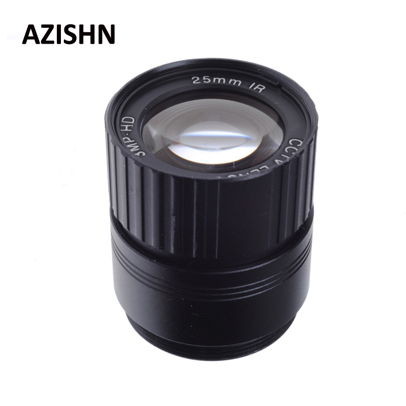 CCTV Lens 25mm IR 1/2.5 Inch 3MP F1.4 Fixed CS Mount Mega Lens 1080P HD For IP HDCVI SDI Camera IP Camera 8mm 12mm 16mm cctv ir cs metal lens for cctv video cameras support cs mount 1 3 format f1 2 fixed iris manual focus