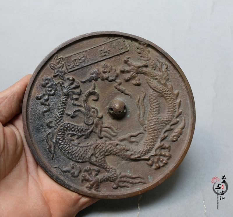 Miscellaneous antiques antique bronze mirror small round mirrorMiscellaneous antiques antique bronze mirror small round mirror