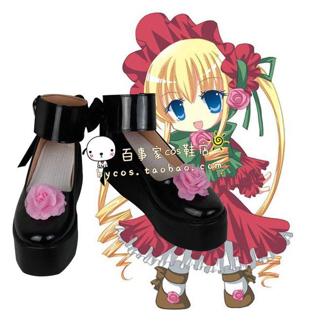 Rozen Maiden Shinku Pure Rubí cosplay cos zapatos
