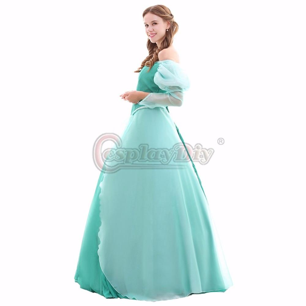Custom Made The Little Mermaid Dress Princess Adult Women Fancy ...