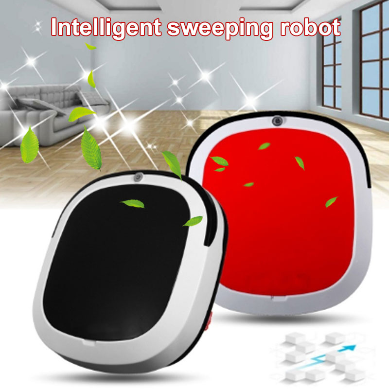 Automatic Smart Robot Vacuum Cleaner Rechargeable Premium Auto Cleaning Robot Auto Sweeping Robot Home Carpet Household