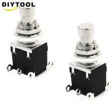Эффектный выключатель на ногу устройства, внешний Выключатель без блокировки, 6-контактный кнопочный переключатель переменного тока 250 В/2 А...