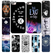MaiYaCa Kpop exo Lucky one phone Cases for iphone 7 7Plus Soft silicon Case For iphone X 6 6s 6Plus 6splus 8 8plus XS XR(China)