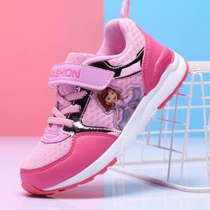 Image 2 - の子供の靴春女の子スニーカー幼児プリンセサソフィアスポーツ sapatos crianca buty sportowe dla dzieci 子 fille