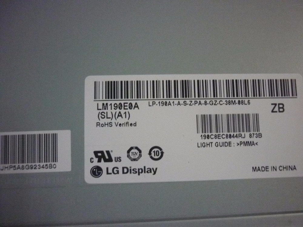 LM190E0A-SLA1 LM190E0A(SL)(A1) LCD display screens lc150x01 sl01 lc150x01 sl 01 lcd display screens