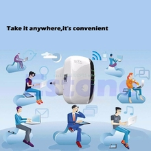 New Signal Extender 300Mbps Wireless-N AP Range 802.11 Wifi Repeater Signal Extender Booster EU Plug hot
