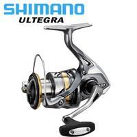 Оригинальный катушки SHIMANO ULTEGRA Катушка для спиннинга 1000/2500/C3000/4000 Макс 11 кг Мощность 5,0: 1/4. 8:1 HAGANE шестерни морской воды/Пресноводная Рыбалка