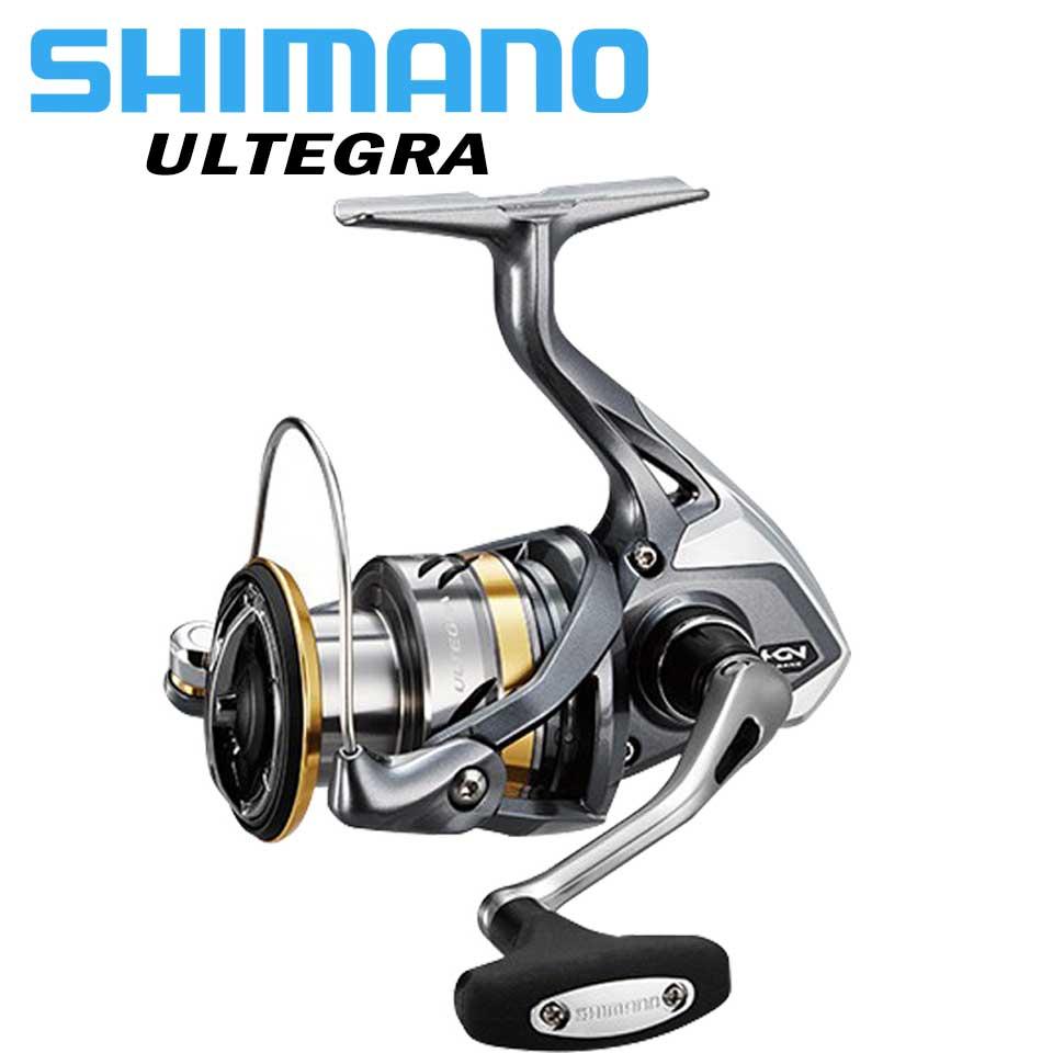 Original SHIMANO ULTEGRA Spinning reel 1000/2500/C3000/4000 Max 11 kg Power 5,0: 1/4. 8:1 HAGANE GETRIEBE meerwasser/süßwasser angeln