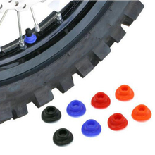 10 조각 먼지 자전거 ATV UTV 공기 밸브 줄기 진흙 가드 타이어 튜브 캡 실리콘 고무 방수 캡 유니버설