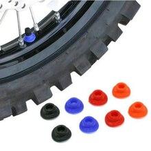 10 Pieces Dirt Bike ATV UTV Air Valve Stem Mud Guards Tire Tube Caps Silicone Rubber Waterproof Cap Universal