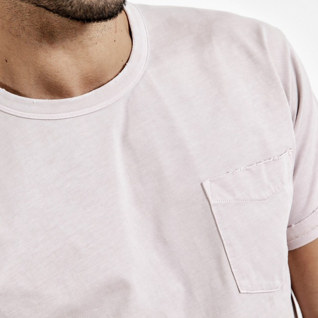Men's Slim Fit T-Shirts  O-Neck Printed Casual Vintage