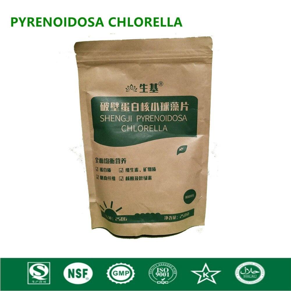 Organic Chlorella Vulgaris Chlorella Pyrenoidosa Tablet Broken High Quality Rich of Chlorophyll,Protein natural organic soap chlorella 85g