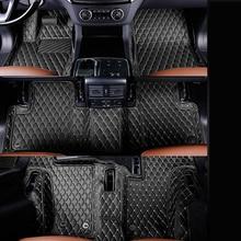 fiber leather car floor interior mat for mercedes benz gl350 gl400 gl450 gl500 gl550 gl63 amg gl420 gls500 x164 x166 2007-2018