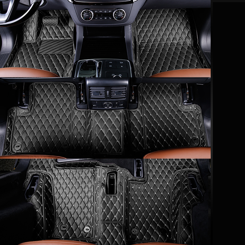 fiber leather car floor interior mat for mercedes benz gl350 gl400 gl450 gl500 gl550 gl63 amg gl420 gls500 x164 x166 2007-2018 yandex w205 amg style carbon fiber rear spoiler for benz w205 c200 c250 c300 c350 4door 2015 2016 2017