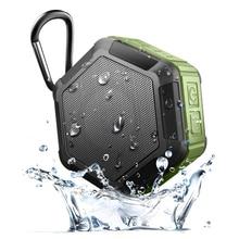 Portable Travel Bluetooth Speaker Waterproof IPX7 With Snap Hook Wireless Hands-free Speaker Outdoor Sport Sound Box Loudspeaker