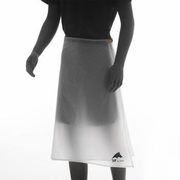 3F UL GEAR Hiking Rain Pants Lightweight Waterproof Rain Skirt 65g 1