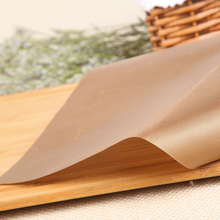 ФОТО health baking tray oil paper non-stick baking tray for pastry kitchen tools 30x40 cm