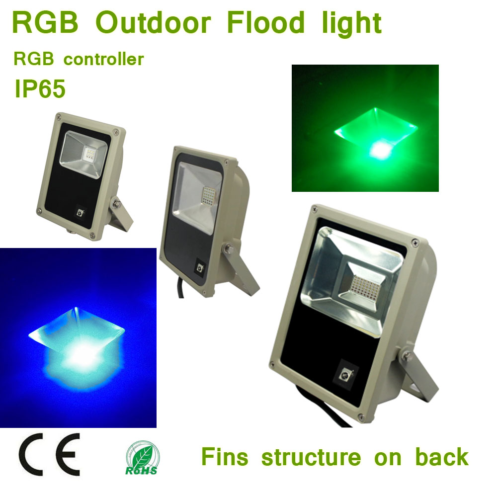 Us 23 03 6 Off 10w 30w 50w Rgb Led Flood Lights Outdoor Color Changing Led Security Light 16 Colors 4 Modes With Remote Control In Floodlights