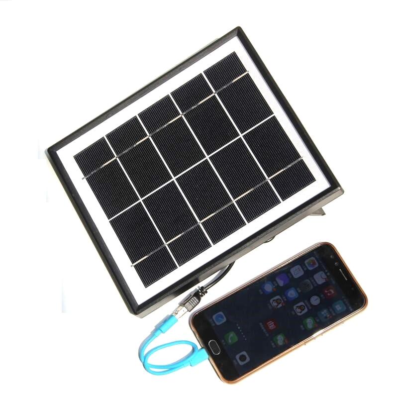 5.5 W Carregador Solar para Telefones Móveis