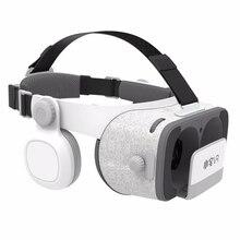BOBOVR Z4 Update BOBO VR Z5 120 FOV 3D Cardboard Helmet Virtual Reality Glasses Headset Stereo Box for 4.7-6.2′ Mobile Phone