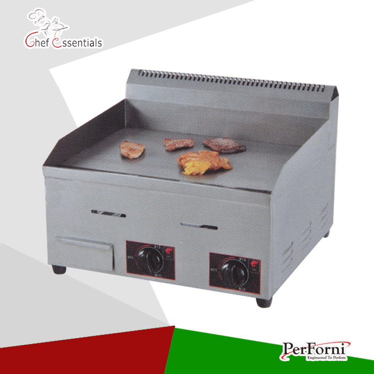 ᗛPKJG-GH720 Gas Piastra (Flat Plate), per Cucina Commerciale - a137