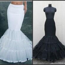 Винтажное бальное платье размера плюс, юбка-американка русалки для свадебного платья, белая подъюбная юбка с кринолином для девочек, кринолин