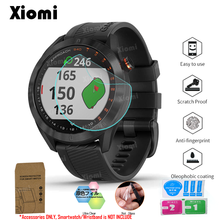 10Pcs/Lot(5Films+5Wipes)For Stylish Lightweight GPS Golf Watch Garmin Approach S40 Protective Film Guard Screen Protector Cover