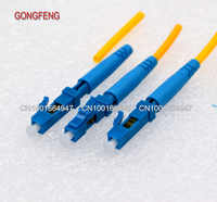 20pcs New LC/UPC Single-Mode Round Cable Rapid Optical Fiber Quick Connector LC indoor Fast Cold Splice Special Wholesale