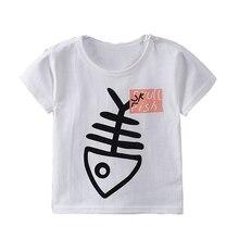 Dollplus/детская футболка для мальчиков и девочек, летняя футболка с принтом динозавра для маленьких мальчиков, хлопковые топы для маленьких мальчиков и девочек