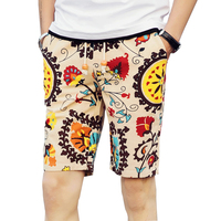 Men S Beach Shorts Personality Printing 2016 Summer Thin Section Breathable Comfort Casual Men S Shorts