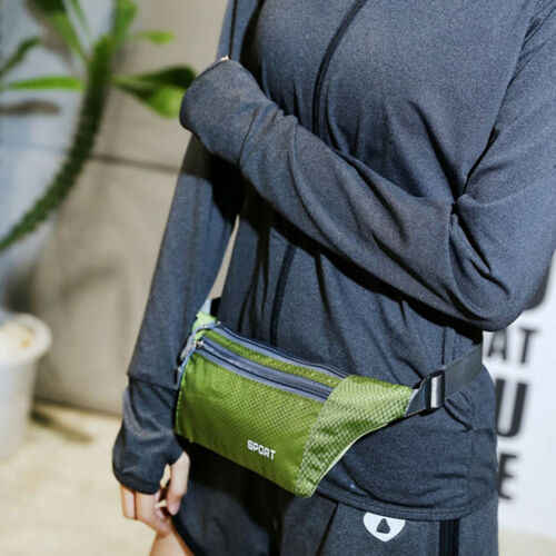 新加入メンズレディーススポーツウエストパックファニーパッククロスボディ財布ベルト旅行電話バッグファッションウエストパック