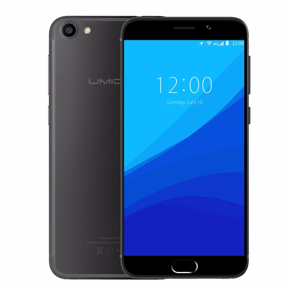 UMIDIGI G Original Phone Android 7.0 Smartphone 2G RAM 16G ROM 4G Lte Touch ID Dual Sim 5