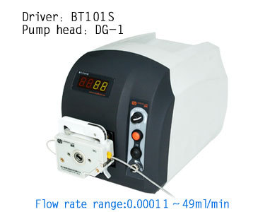 Bt101s dg6 1 (6 рулонов) micro низкий расход Скорость перистальтический насос лаборатория промышленного инструмента дозирования насос жидкости 0.