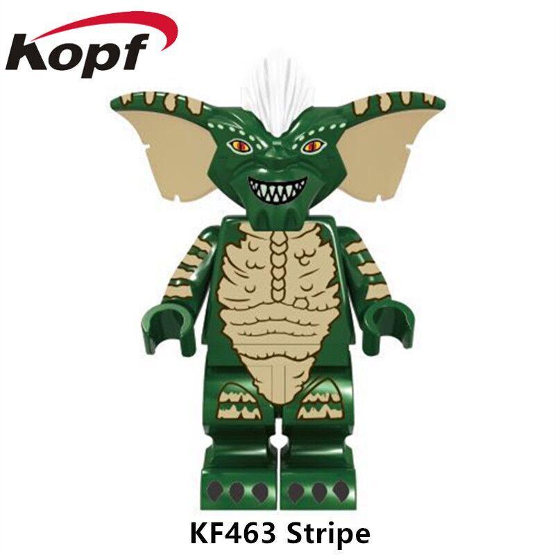 KF463 Super Heroes Building Blocks Dimensioni 71256 Verde Gremlins Della Banda Gizmo Mattoni modello Modello di Azione Per I Bambini Regalo Giocattoli