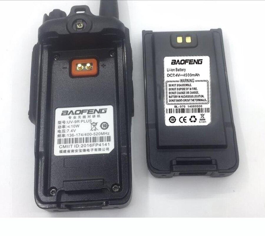 Baofeng UV-9R Plus Handheld Walkie Talkie 8W 2800mAh Dual Band IP67 Waterproof Two Way Radio hf Transceiver UV 9R camping (6)