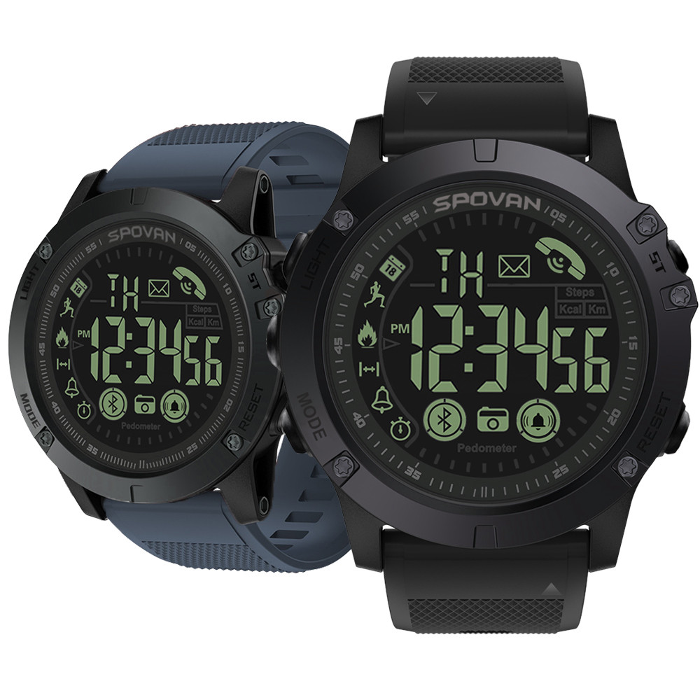 Nueva onda 3 insignia Smartwatch resistente 33-Mes de tiempo de espera de 24 h-Vigilancia reloj inteligente para IOS y Android 34