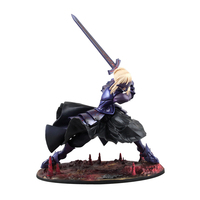 Fate/stay Night SABER Alter 20cm Saber Huke PVC Action Figure Anime Doll Model Toys Gift