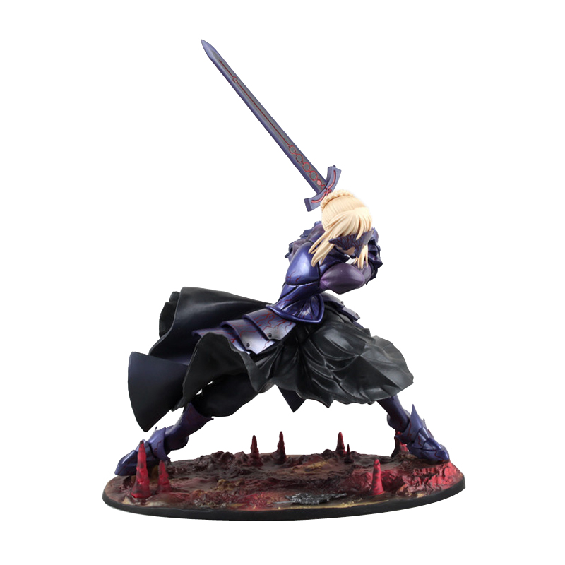 Fate/stay Night SABER Alter 20cm Saber Huke PVC Action Figure Anime Doll Model Toys Gift цена