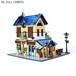 Image 5 - Wange 5210 serie de arquitectura el Notre Dame de modelo París juego de bloques de construcción punto de referencia clásico juguetes educativos para niños