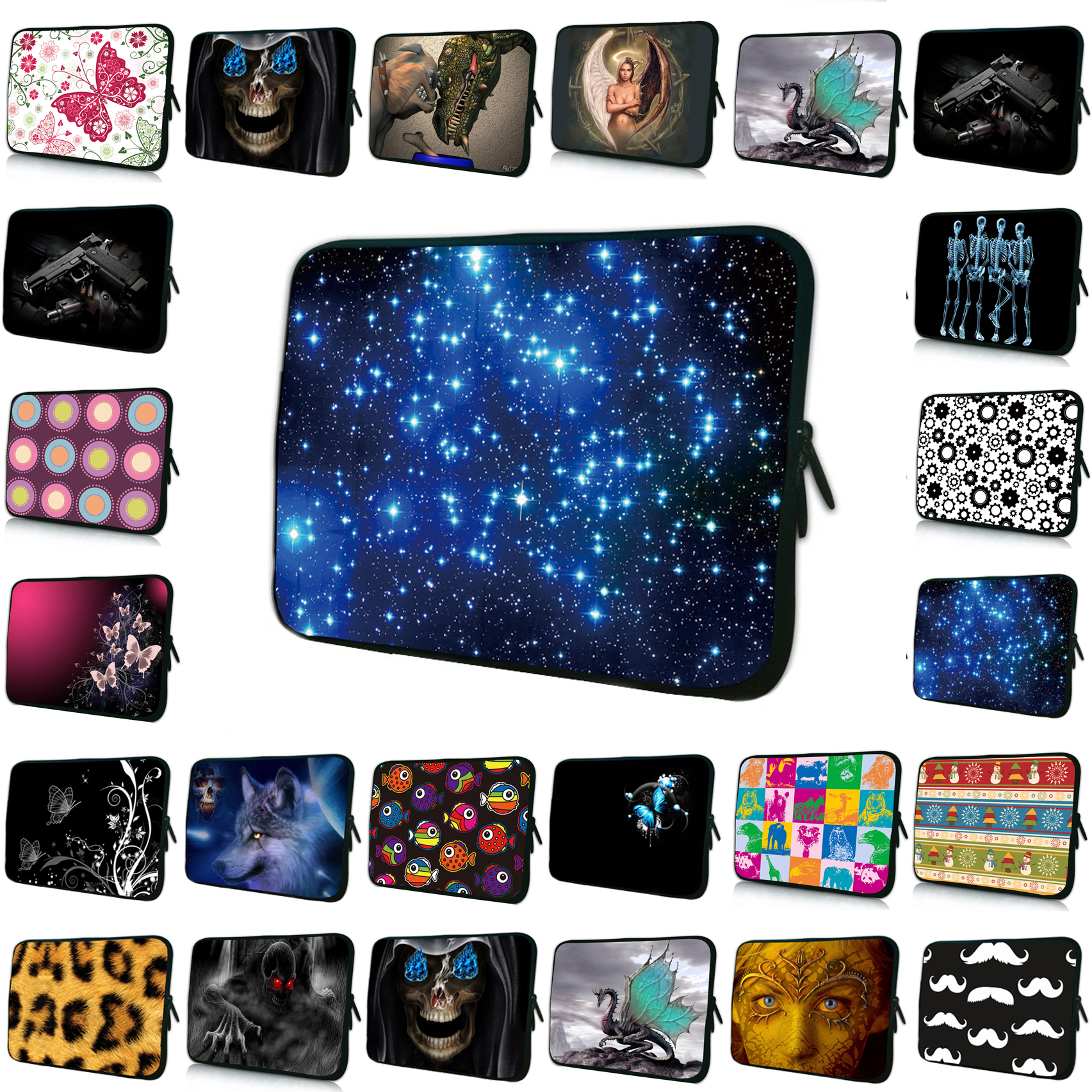 Charming 13 12.9 13.3 Inch 13 Notebook Laptop Neoprene Inner Sleeve Bags Cases For Apple Macbook Air / iPad Pro Birthday Gift