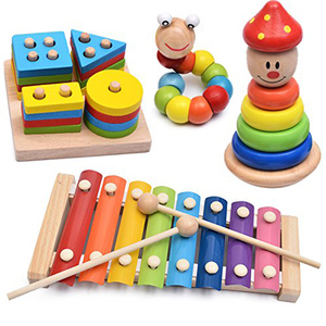 New 2 Pair Wood Mallets Percussion Sticks for Energy Chime, Xylophone, Wood Block, Glockenspiel and Bells