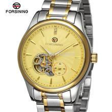 FSG9406M4T2 Последние роскошные мужские Автоматическая нержавеющей стали оригинальные часы с подарочной коробке бесплатная доставка цена промотирования