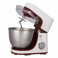 BESTWELL 600W 220V Electric Professional Dough Mixer Stand Food Mixer Flour Eggs Bread Milkshake Blenders 4