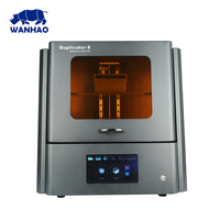 WANHAO D8 most popular DLP 3D Printer used for Dental&Jewelry,8.9 inch LCD printing screen ,WIFI&USB are available