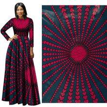 2019 Spring New Red Flat Cotton Calico 112-114 Width cotton cloth fabrics for patchwork  Batik 100% Plain