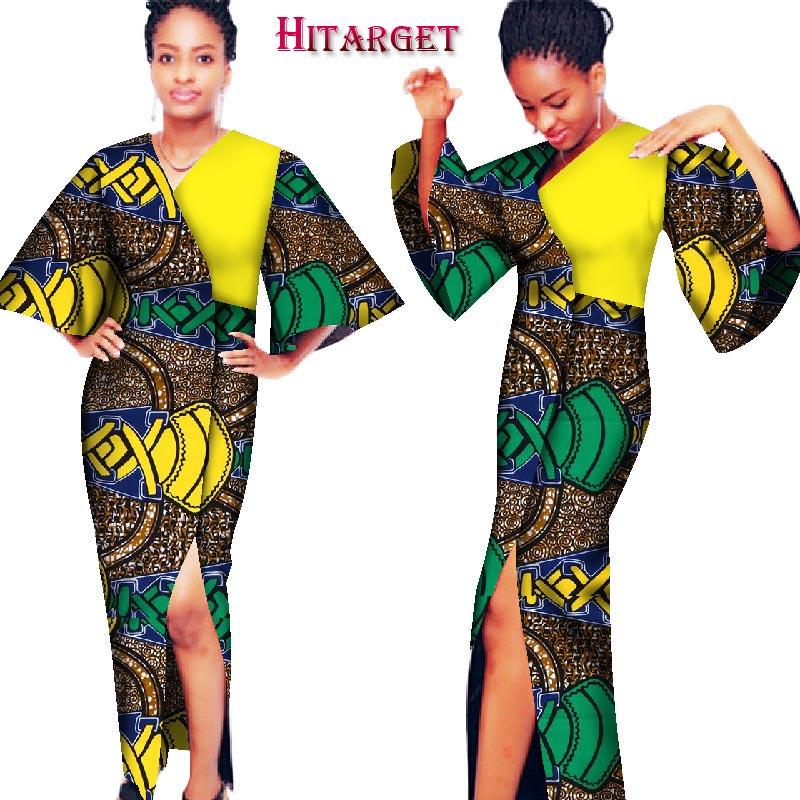 أزياء الخريف فساتين للنساء الأفريقية - الملابس الوطنية
