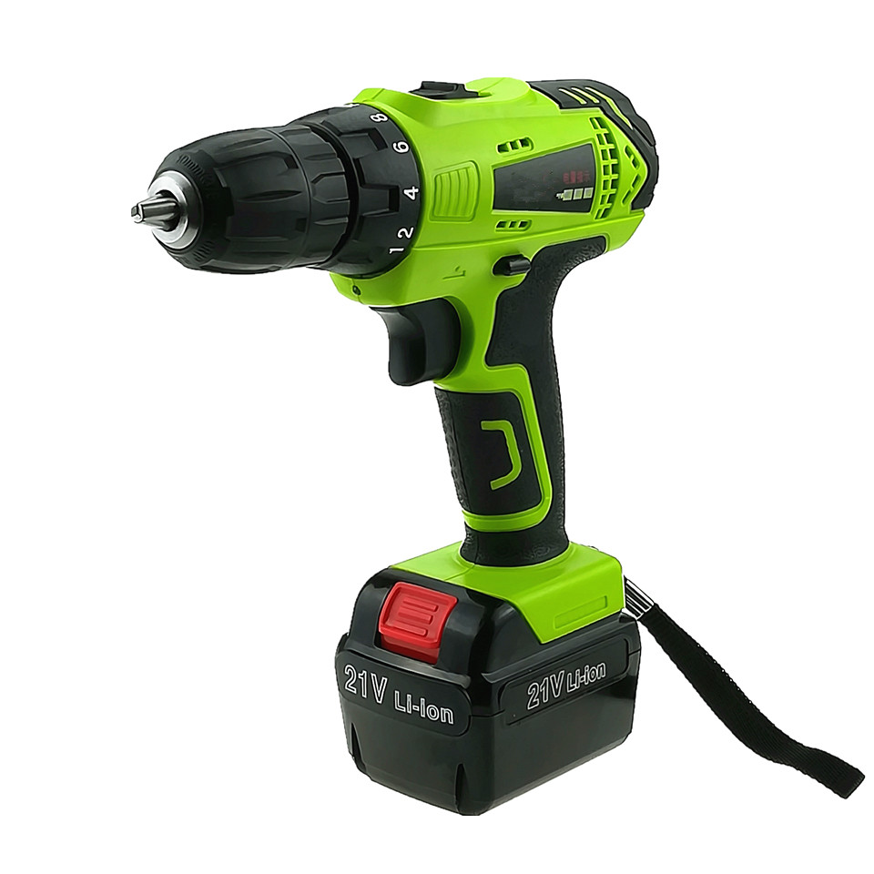 Free Shipping Professional 21V Electric Drill Lithium Battery Rechargeable Multi-function Electric Automatic Screwdriver Tools free shipping brand proskit upt 32007d frequency modulated electric screwdriver 2 electric screwdriver bit 900 1300rpm tools