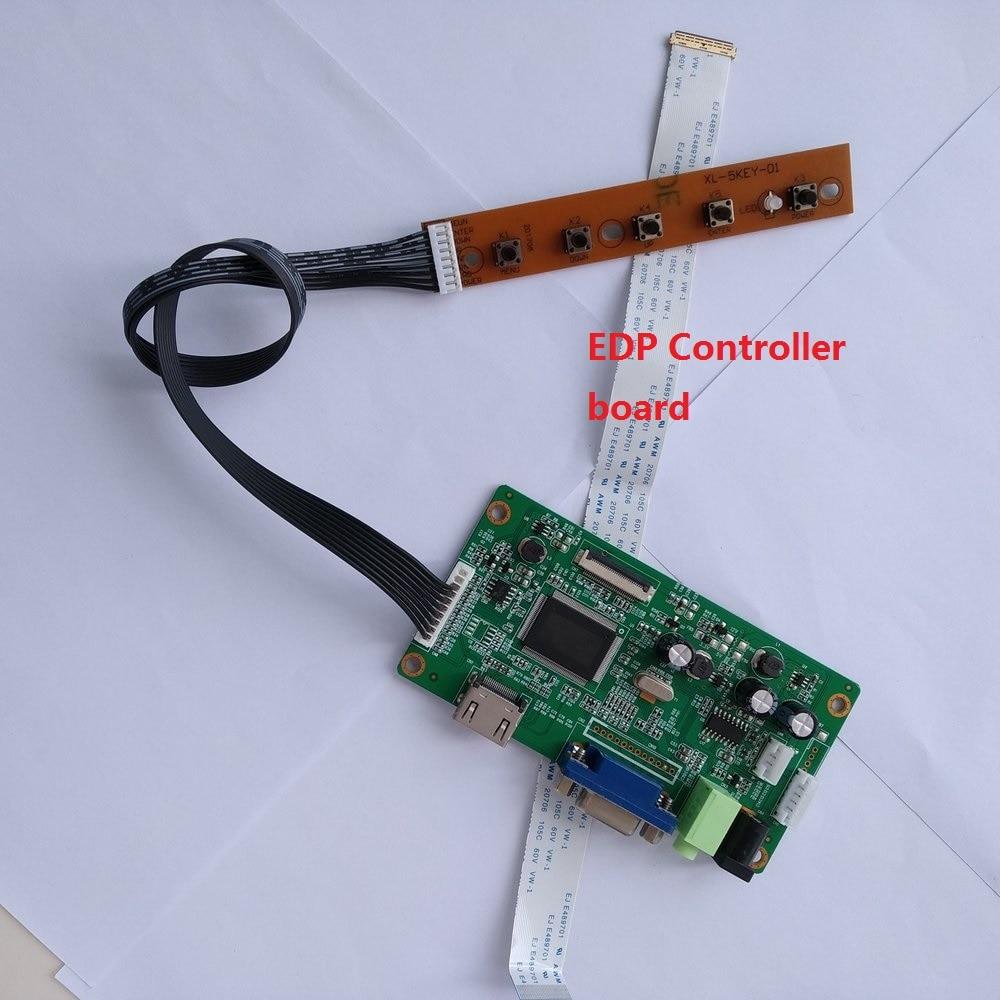 HDMI+DVI+VGA LCD Lvds Controller Driver Board Kit for LTN156AT30-L01 1366X768